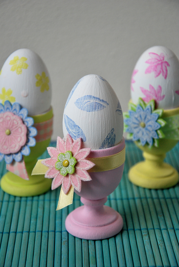 Marsha Valk | Decorated Egg Holders // Eierdopjes