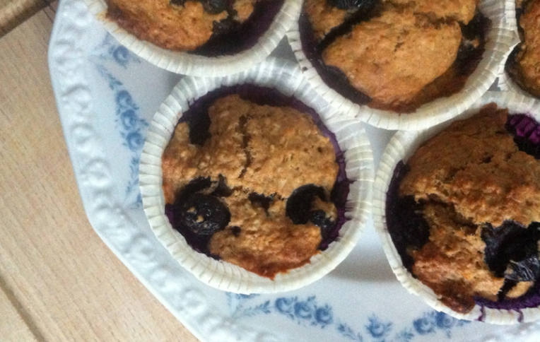 Marsha Valk | Blueberry Coconut Muffin recipe