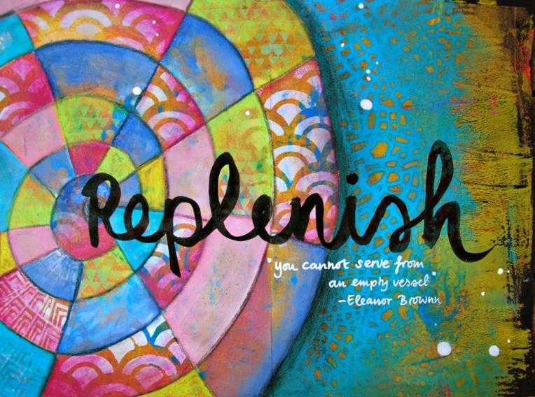 Marsha Valk | OLW: Replenish