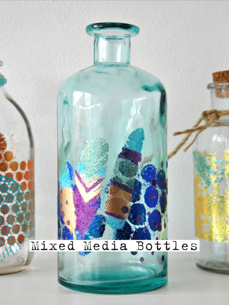 WOW! Embossing Powders Mixed Media Bottles