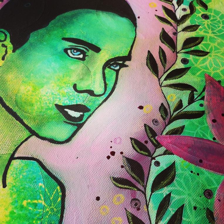 Marsha Valk | Workshop Scrapbookzolder 25 april 2015