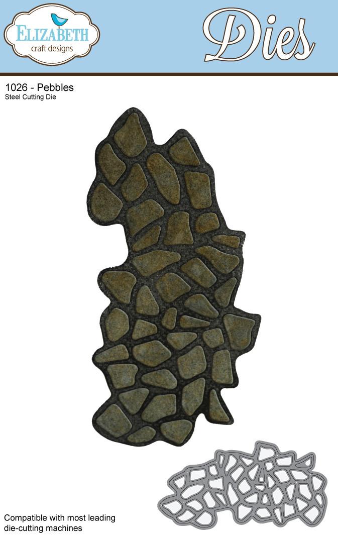 Marsha Valk | Elizabeth Craft Designs: Pebbles (1026)