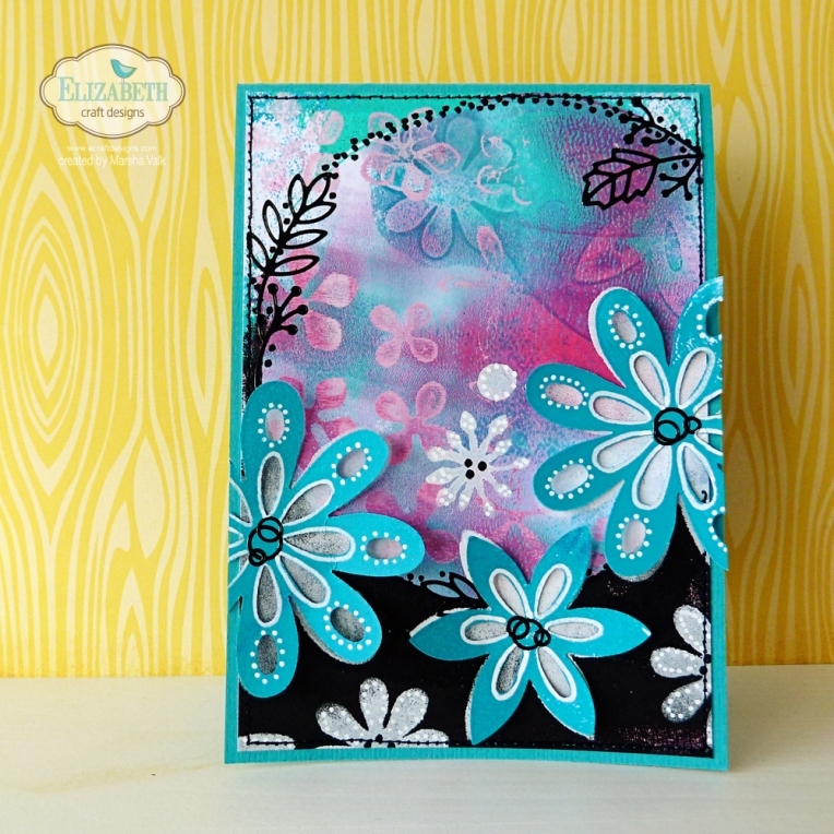 Marsha Valk | Elizabeth Craft Designs: Gelli Plate Cards