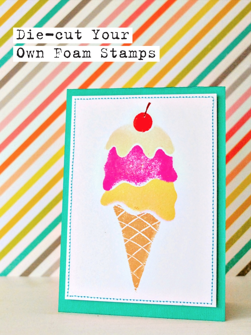 Elizabeth Craft Designs DIY Foam Stamps