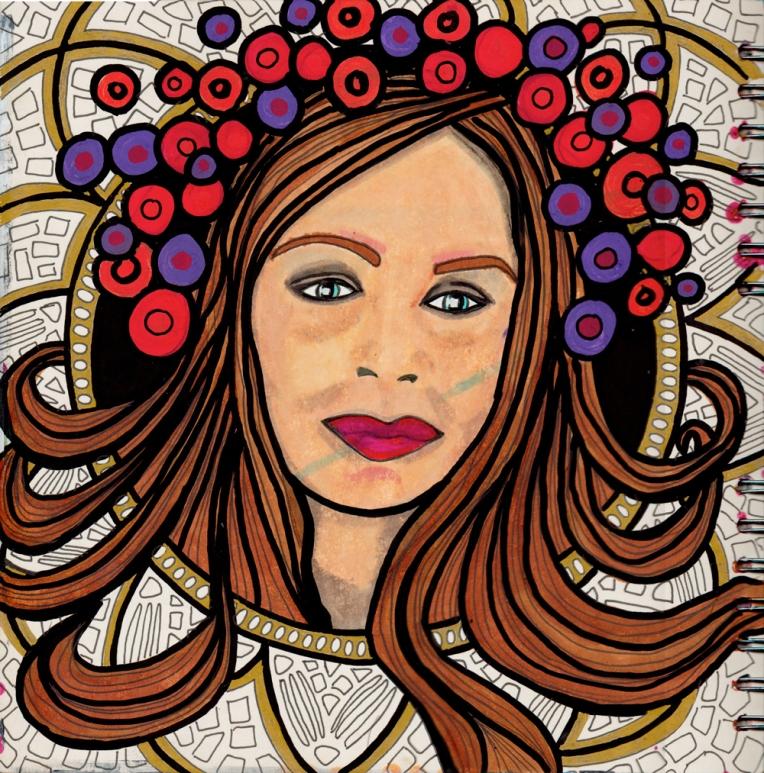 Marsha Valk | Inspired by: Alphonse Mucha