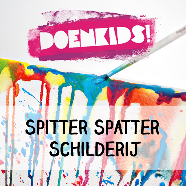 Marsha Valk | DoenKids: Spitter Spatter Schilderij
