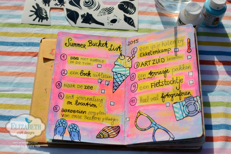 Marsha Valk | Elizabeth Craft Designs: Summer Crafting on the Go