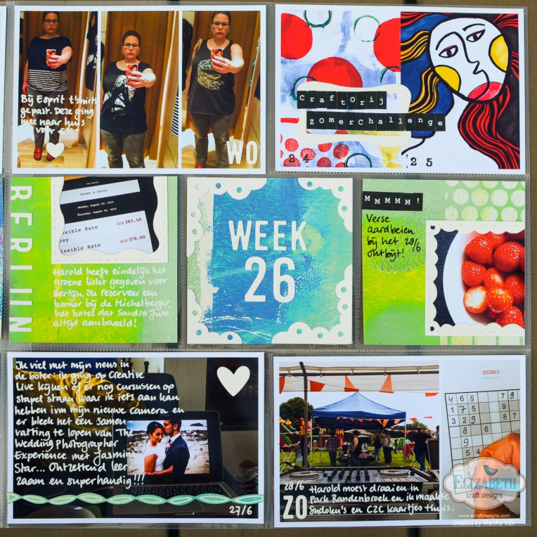 Marsha Valk| Elizabeth Craft Designs: Project Life Spread / Pocket Page Scrapbooking