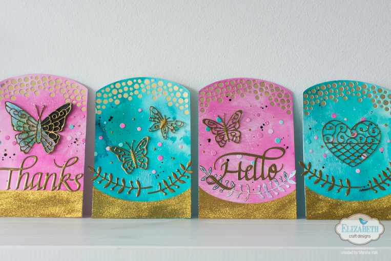Marsha Valk | Elizabeth Craft Designs: Rococo Cards