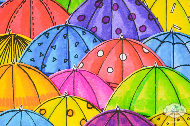 Marsha Valk | Elizabeth Craft Designs: Colour Your Own Rainy Day Tag