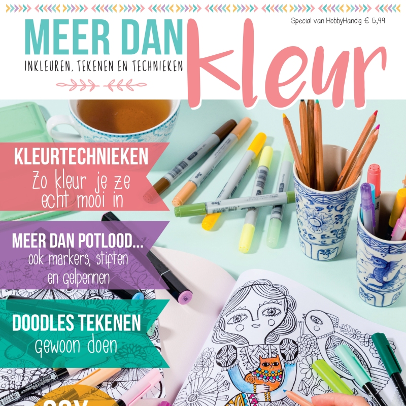 Marsha Valk | Meer dan Kleur // magazine special // kleuren voor volwassenen