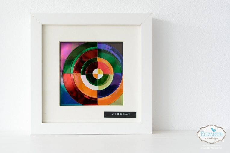 Marsha Valk | Elizabeth Craft Designs: Colourful Fitted Circles