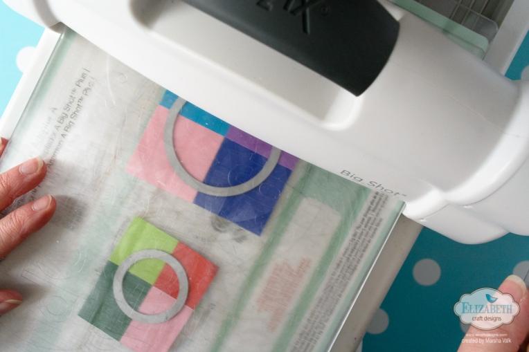Marsha Valk | Elizabeth Craft Designs: Colourful Fitted Circles