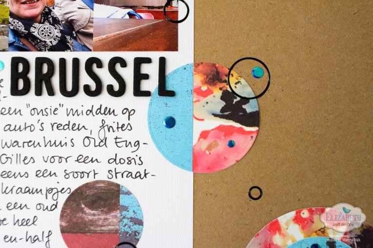 Elizabeth Craft Designs Through The Lens Scrapbook Page Marsha