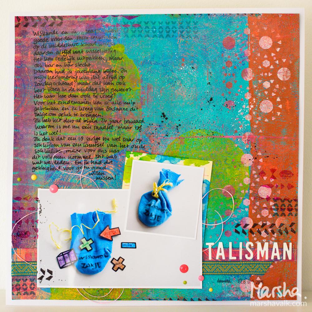 Marsha Valk | Inspired by: Talisman