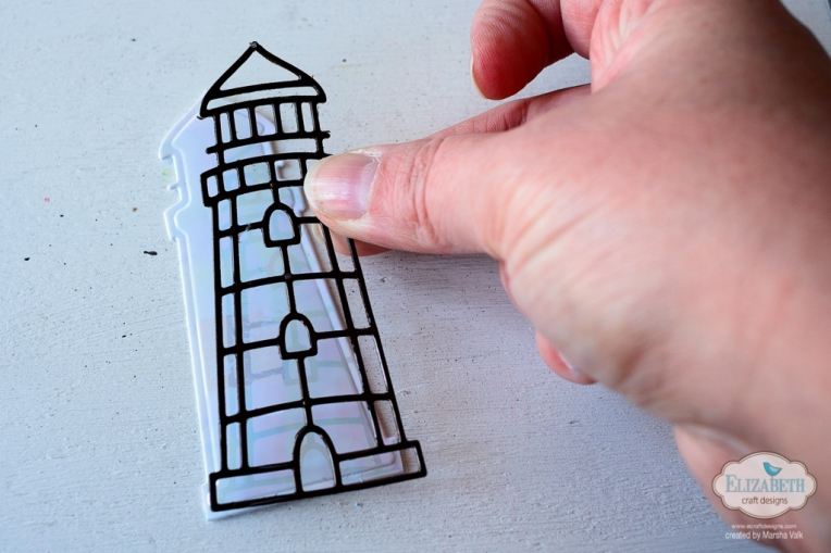 Marsha Valk | Elizabeth Craft Designs: Meet Me At The Lighthouse Card