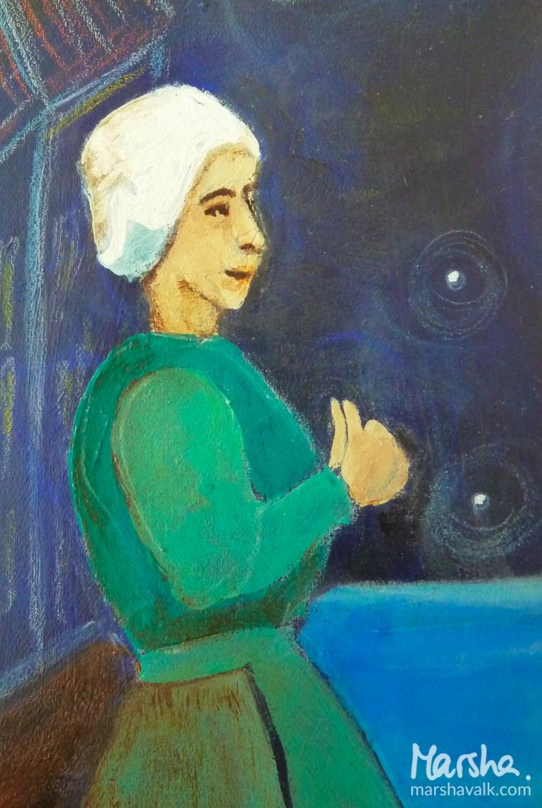 Marsha Valk | Inspired By: Huis te Warmelo // art journal spread