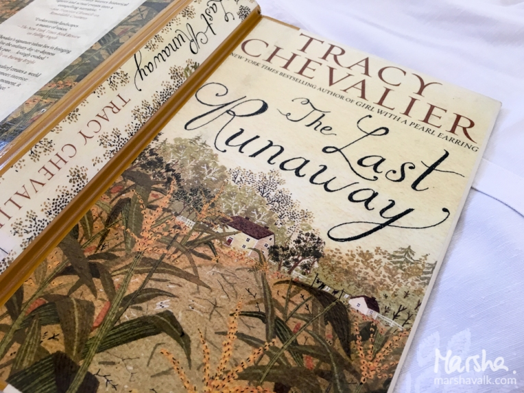 Marsha Valk | Inspired by: The Last Runaway