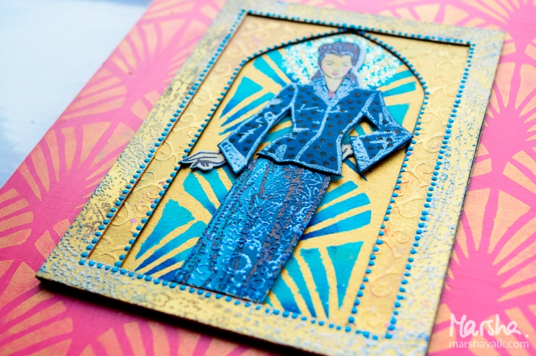 Marsha Valk | n*Studio Creative Squad: Stampendous Fashion Dame Summer Hop