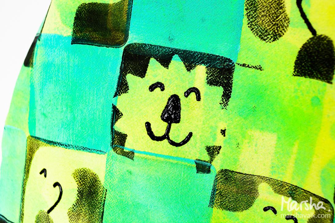 Marsha Valk | Gelli Arts: Gelli Printed Tote Bag