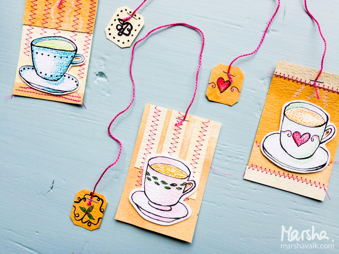 Marsha Valk   Inspired by: Tea