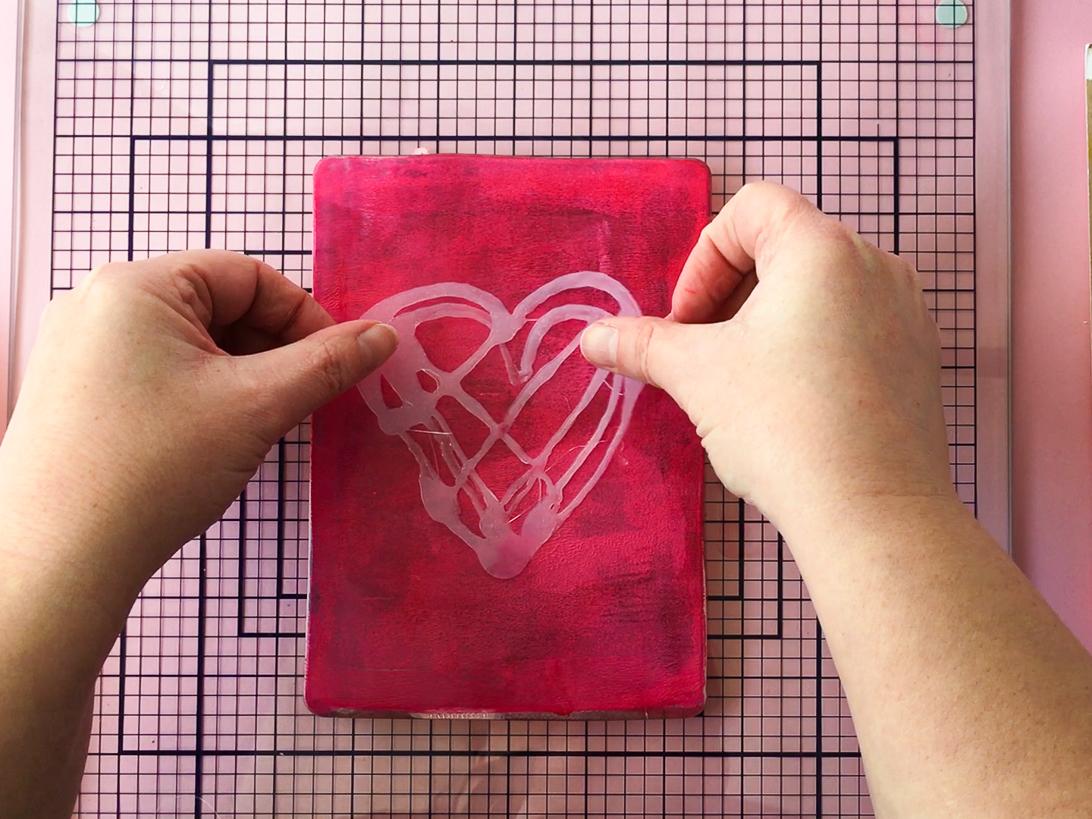 Marsha Valk | Gelli Arts®: Valentine's Day Cards
