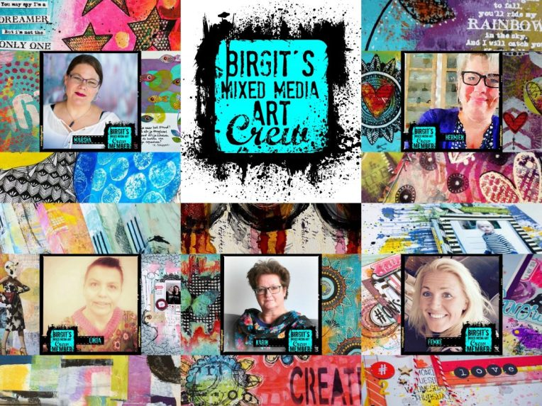 Birgit's Mixed Media Art Crew