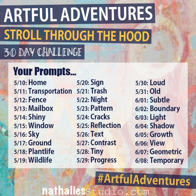n*Studio: Artful 30 Day Prompts By Date