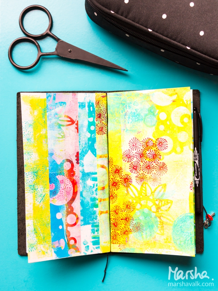 Marsha Valk | Carabelle Studio: DIY Midori Art Journal