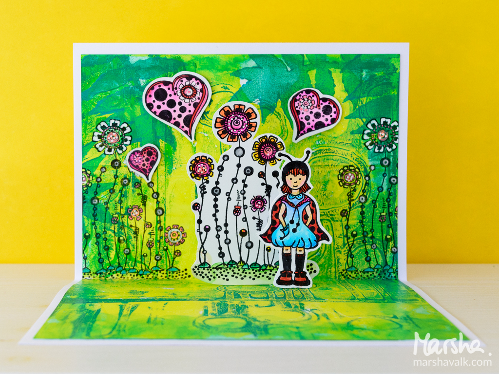 Marsha Valk | Carabelle Studio: Pop-Up Zinouk Cards