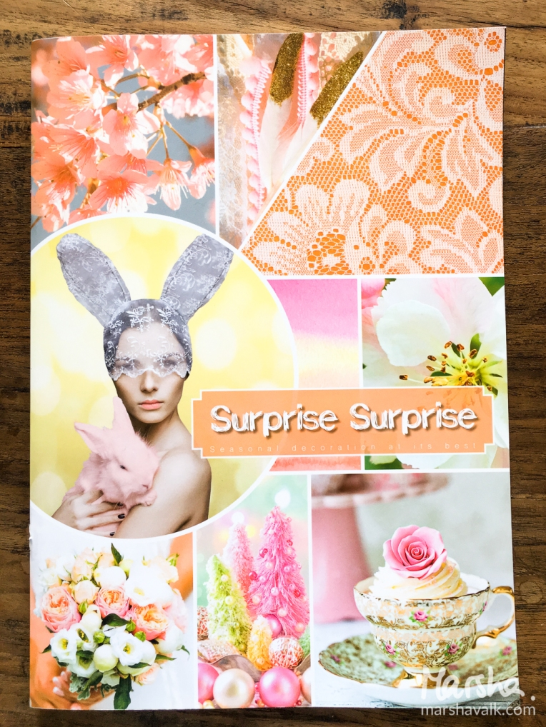 Marsha Valk | Inspired by: Surprise Surprise // art journal spread