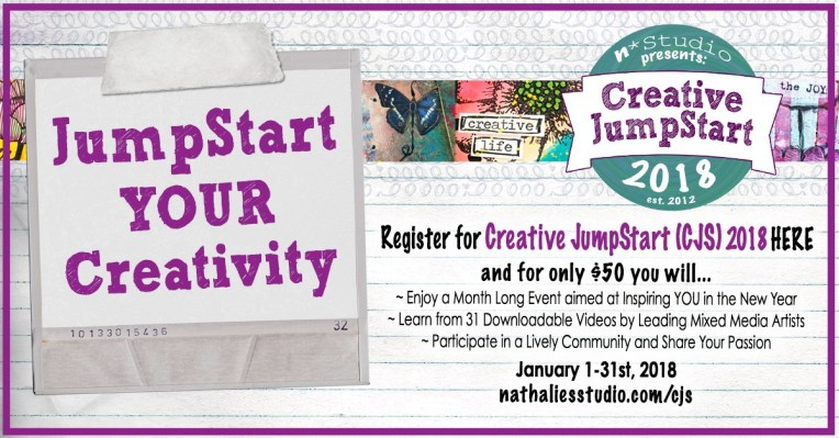 Join me at Creative JumpStart 2018!