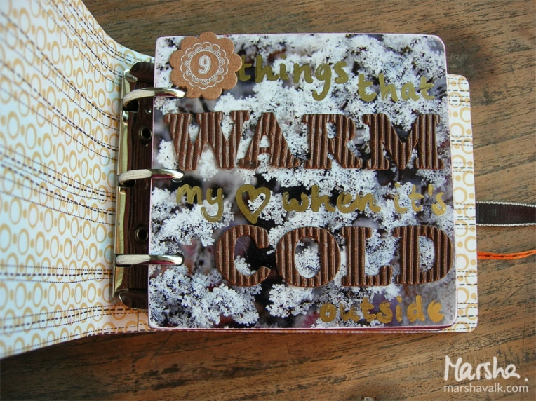 Marsha Valk Inspired by: Warmth // Mini book 2007