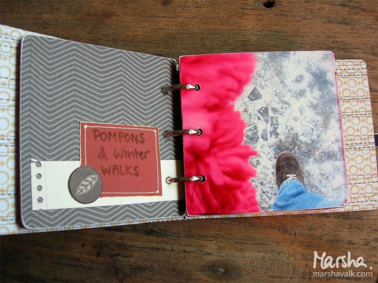 Marsha Valk Inspired by: Warmth // Mini book 2007
