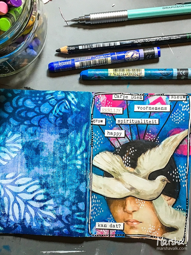 Marsha Valk | Inspired by - January 2018: Creative JumpStart 2018