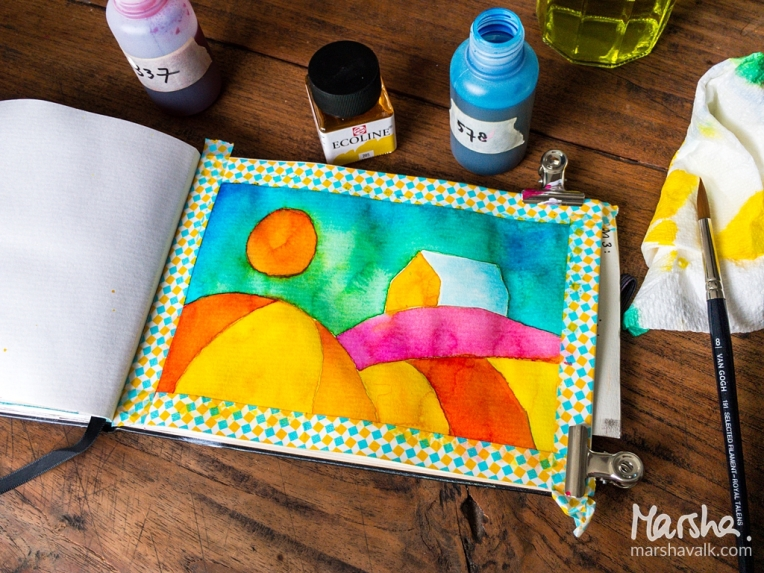 Marsha Valk | Inspired by - March 2018: Ecoline