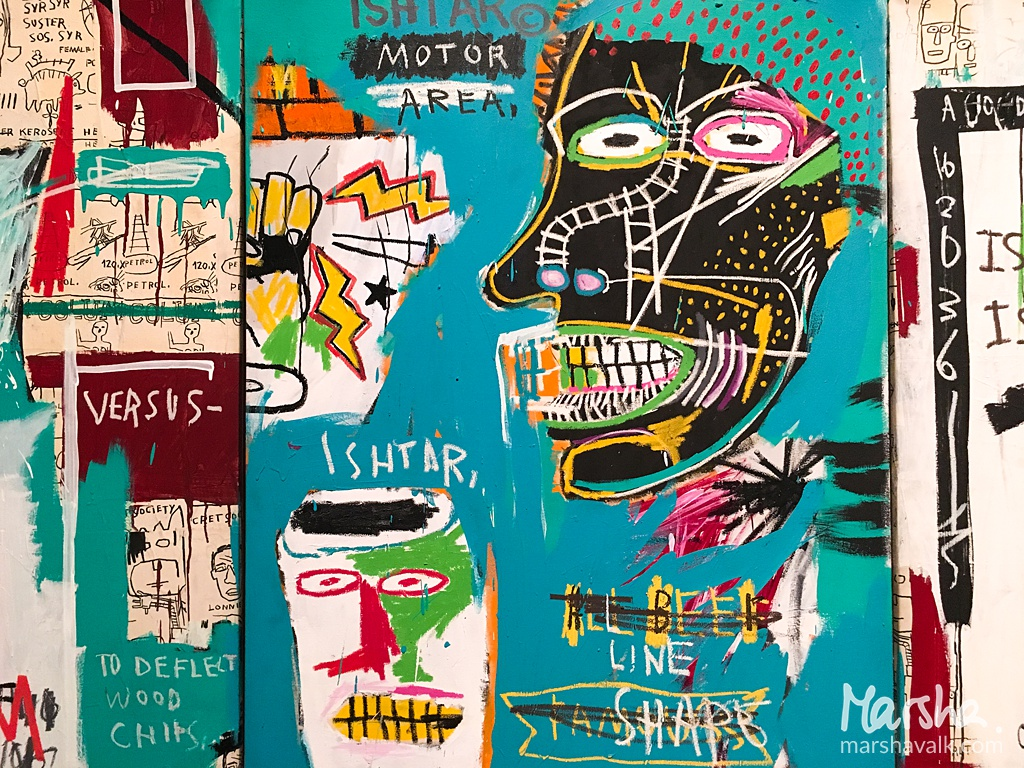 Marsha Valk | Inspired by - April 2018: Basquiat