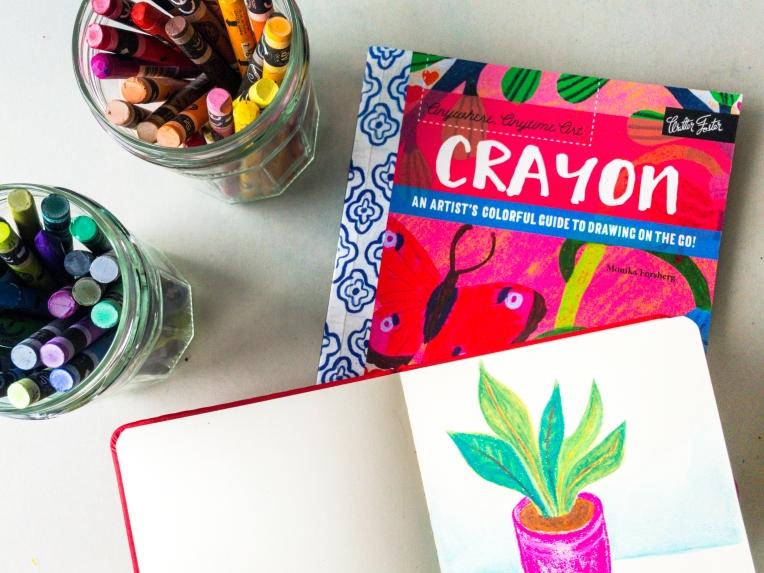 Marsha Valk | Monika Forsberg: Crayon