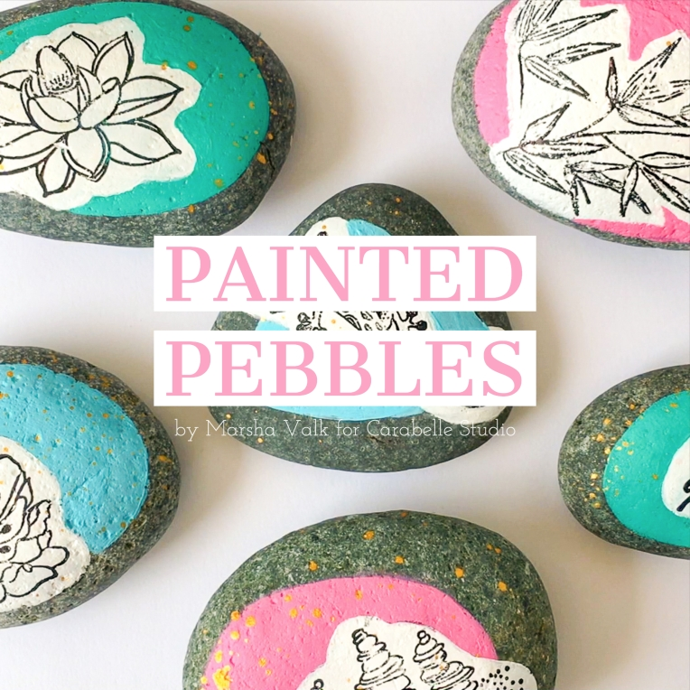 Marsha Valk | Painted Pebbles FB