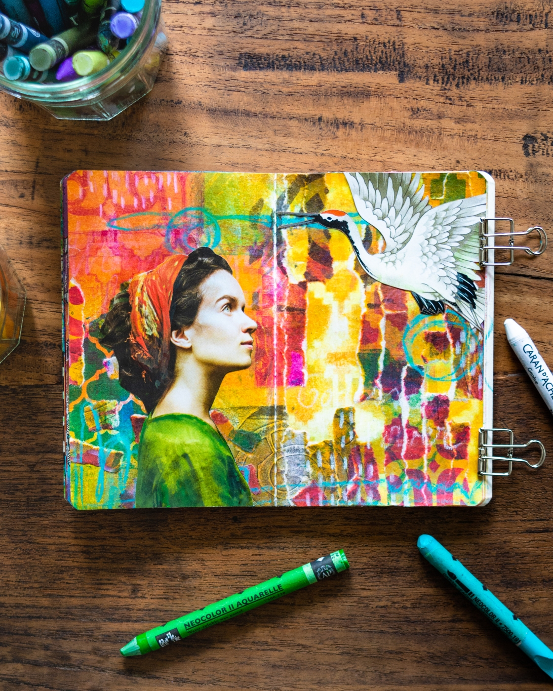 MArsha Valk | Inspired by: The Stencilfied Journal