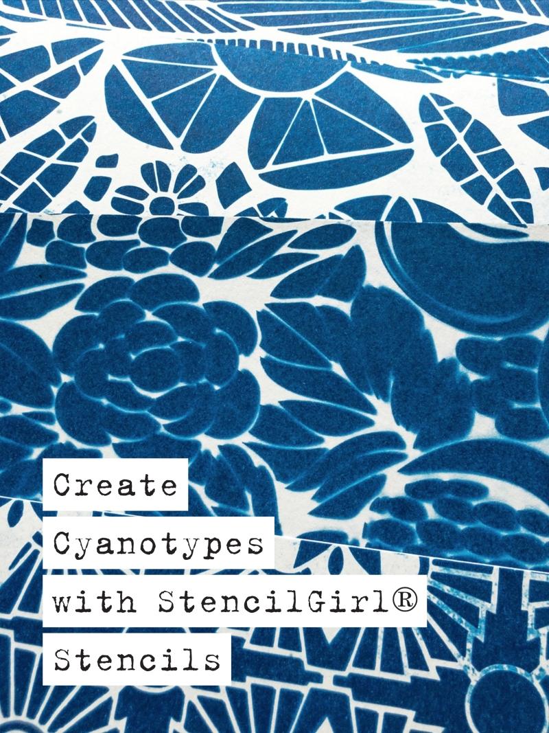 Marsha Valk | StencilGirl® Column: Cyanotypes