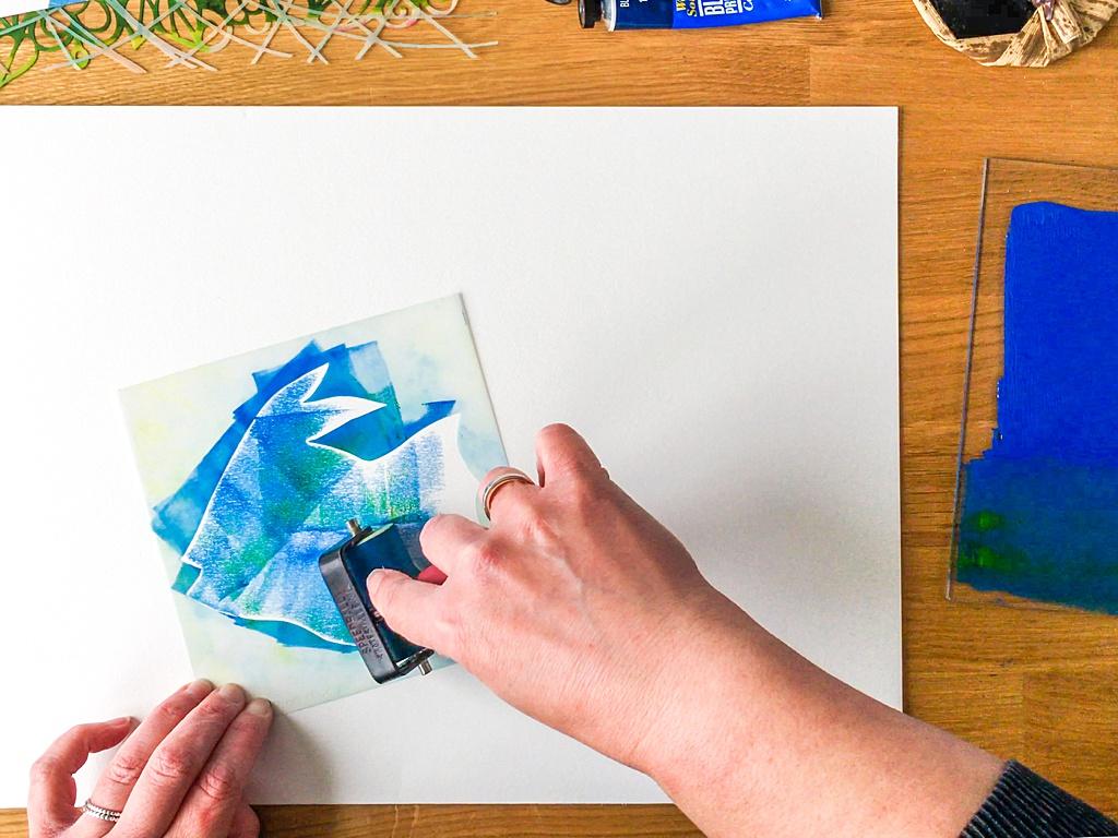 Marsha Valk | StencilGirl® Column: Printing a Still Life with StencilGirl® Stencils