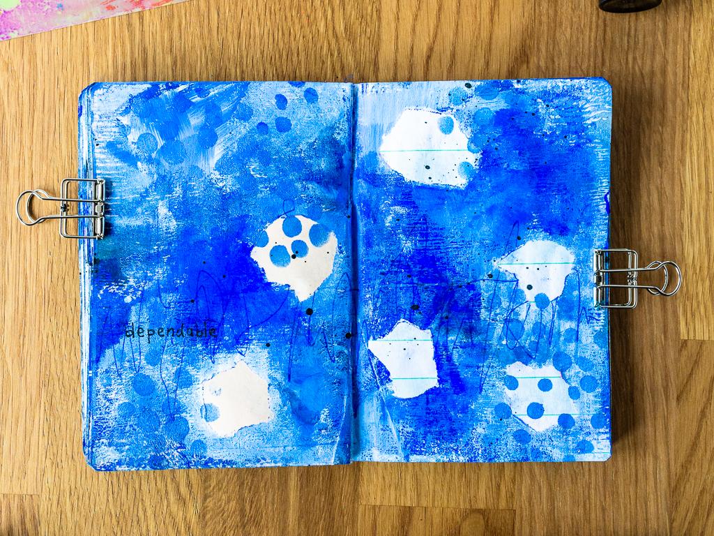 Marsha Valk | StencilGirl®: Resketch Collab Journal