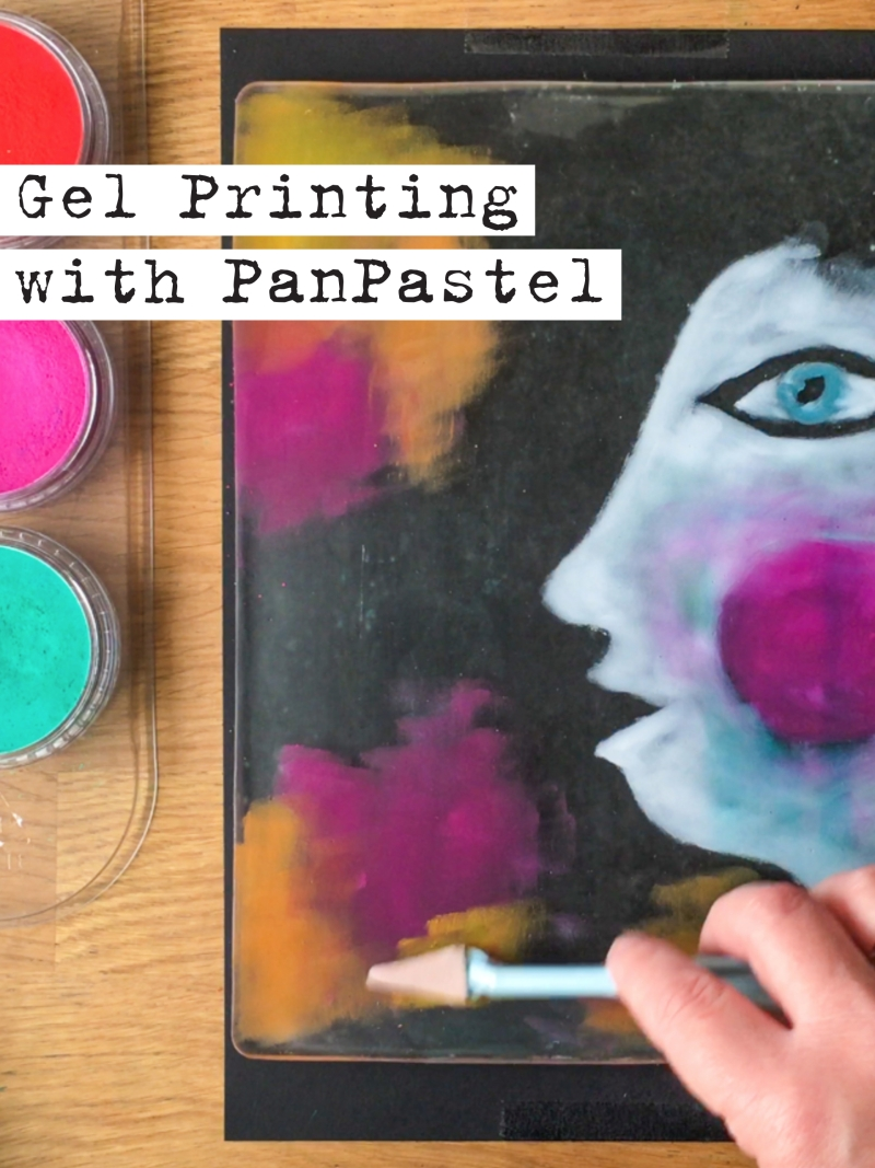 Monotyping with PanPastel® on the Gelli Arts® Gel Printing Plate
