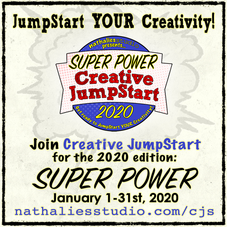 Join me to kick your creativity into high gear!