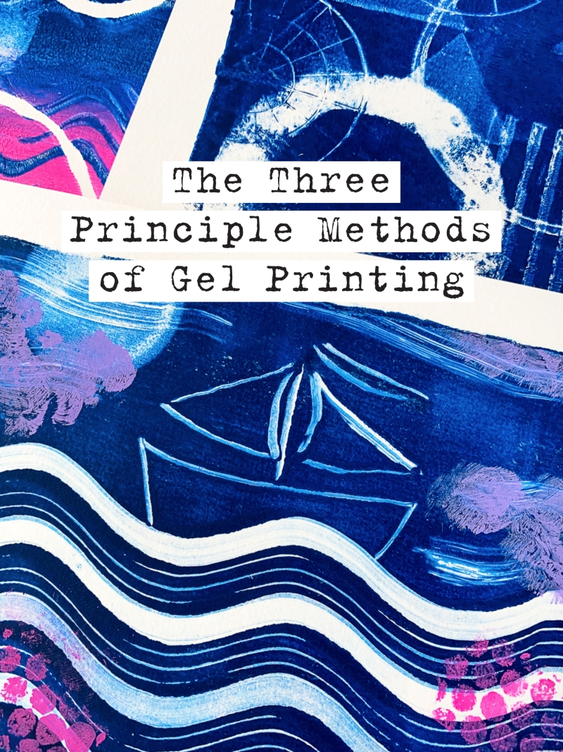 Marsha Valk | Gelli Arts®: The Principle Methods of Gel Printing