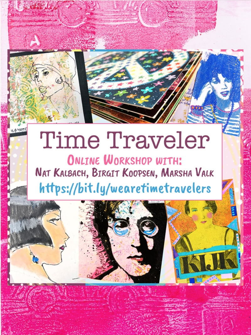 Time Traveler Online Workshop With Nat Birgit and Marsha