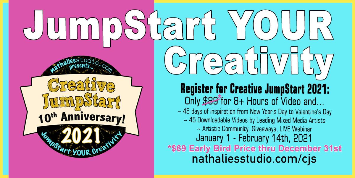 JumpStart your Creativity in 2021 with Creative JumpStart!