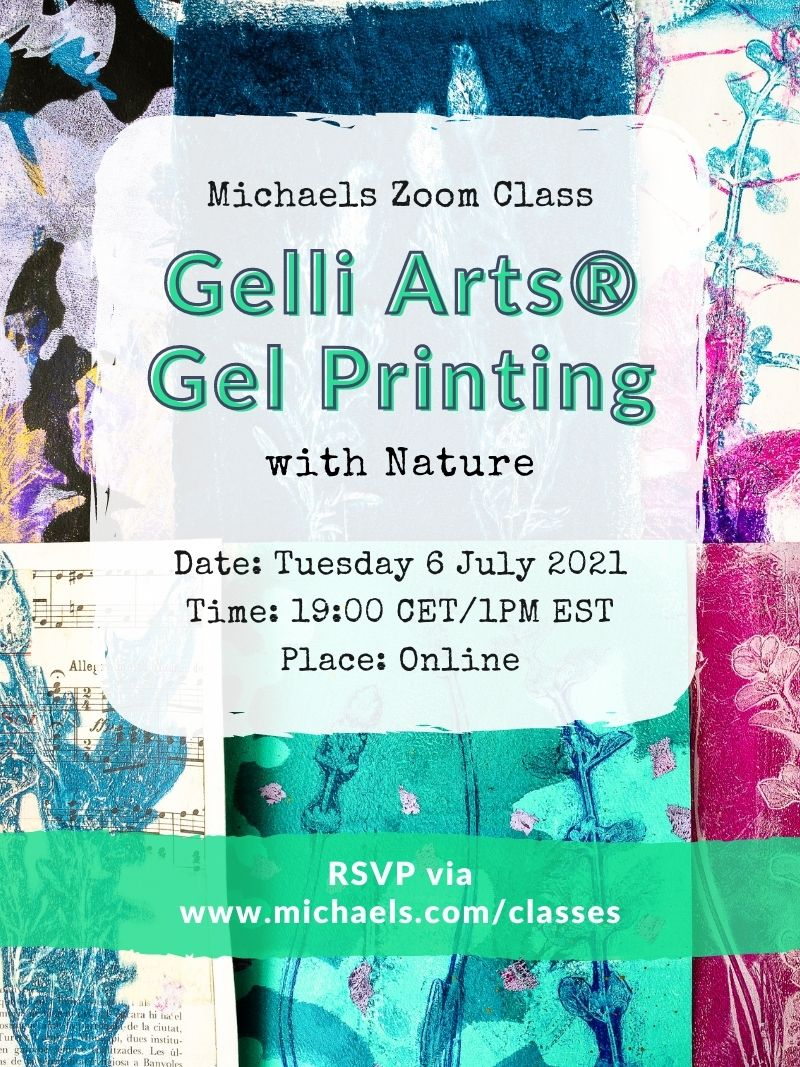 Michaels Zoom Class July 6 2021