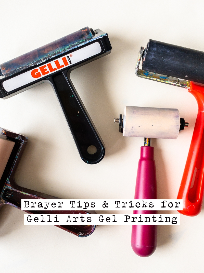 Brayer Tips and Tricks for Gel Printing